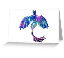 Galaxy Toothless Greeting Card