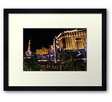 Vegas Baby! Framed Print
