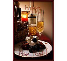 New Years Card Photographic Print
