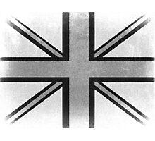 Vintage British Flag Photographic Print