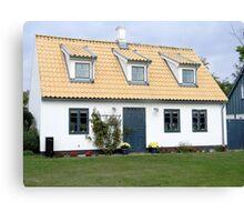 Swedish Cottage  Canvas Print