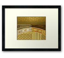 A difference of opinion (Topkapı Sarayı) Framed Print