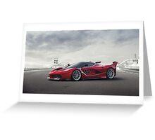 Ferrari FXX K Greeting Card