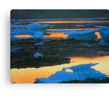 melting versus flowing... Canvas Print
