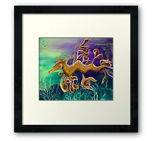Dragons Deep Framed Print