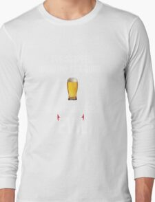 I've stopped drinking for good... now  I drink for evil (beer) Long Sleeve T-Shirt