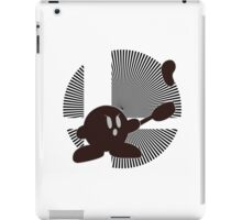 Mr. Game & Watch (Kirby Hat) - Sunset Shores iPad Case/Skin