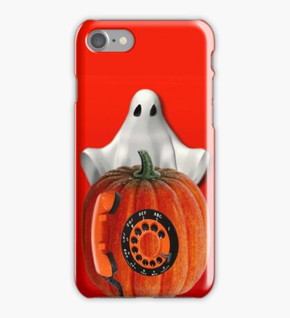 WHO U GONNA CALL ...GHOST BUSTERS..I AIN'T AFRAID OF NO GHOST...PICTURE AND OR CARD iPhone Case/Skin