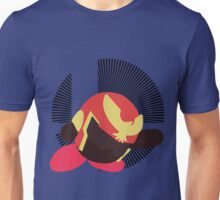 Captain Falcon (Kirby Hat) - Sunset Shores Unisex T-Shirt