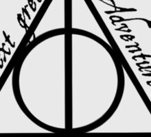 The Deathly Hollows Sticker