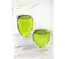 Green Pots  Photographic Print