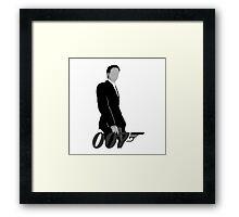 Agent 007 Framed Print