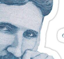 Nikola Tesla, ladies man. Sticker