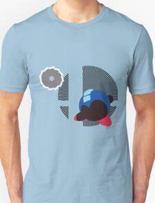 Mega Man (Kirby Hat) - Sunset Shores T-Shirt