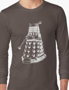 Dalek (white) Long Sleeve T-Shirt