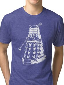 Dalek (white) Tri-blend T-Shirt