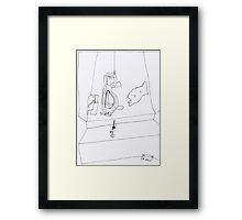 PDD - 2011/11/03 - Self-portrait Framed Print