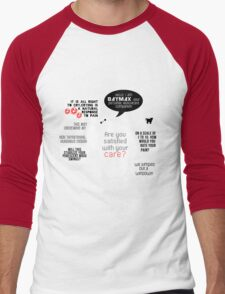 Baymax Men's Baseball ¾ T-Shirt