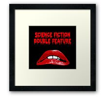 Rocky Horror - Science Fiction/Double Feature Framed Print