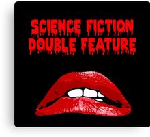 Rocky Horror - Science Fiction/Double Feature Canvas Print