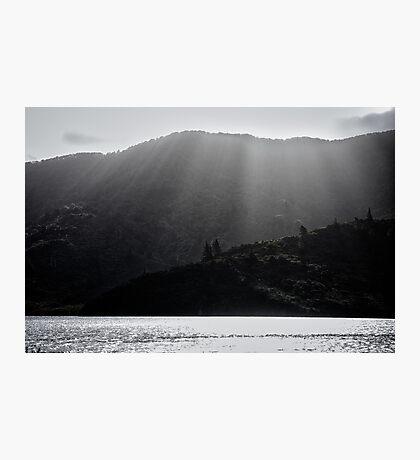 Breaking Through Photographic Print