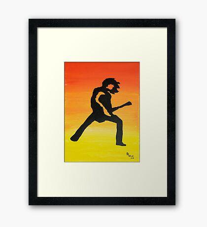 Rock Off Nr3 Framed Print