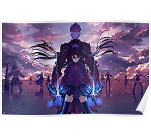 Fate Stay Zero Poster