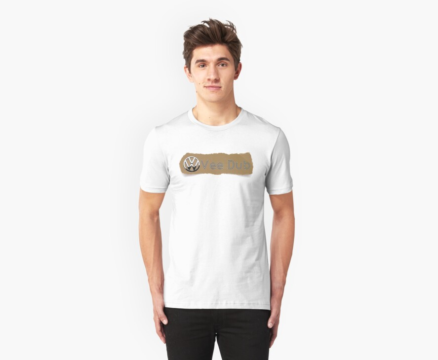 Vee Dub VW Torn Look T-Shirt by jay007