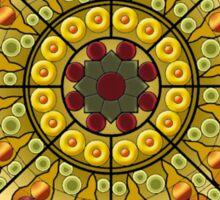 Modernist Art Palau Musica n1a Sticker