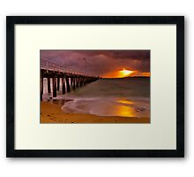 """Shining Through The Tempest"" Framed Print"