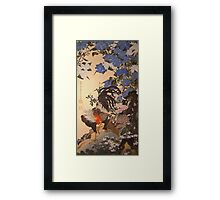cockrel Framed Print