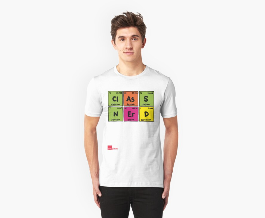 Geek Chic Range: Class Nerd (Elementary) by cectimm
