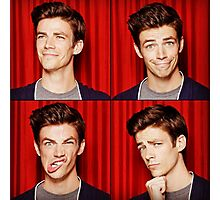 Grant Gustin Funny Faces Photographic Print