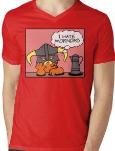The Lasagnaborn Mens V-Neck T-Shirt
