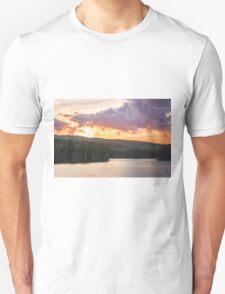 Kennebago River at Sunset Unisex T-Shirt