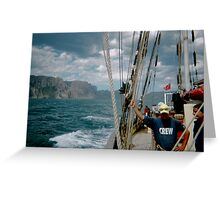 Down the Tasmanian Coast One and All 2003 Greeting Card