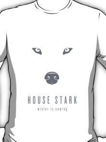 House Stark Minimalist T-Shirt T-Shirt