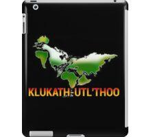 Giant Chicken Deity Klukath-Utl'Thoo iPad Case/Skin