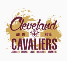 "Cleveland Cavaliers ""All In"" Trillionaire Mindset™ Kids Clothes"