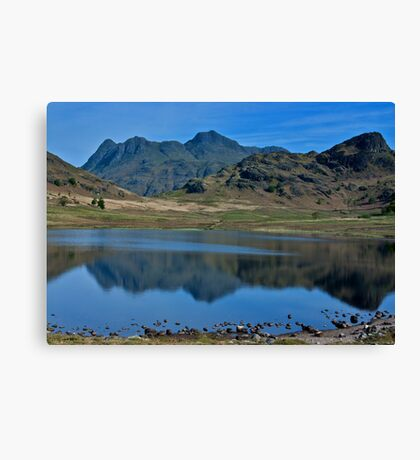 Towards the Langdale Fells Canvas Print