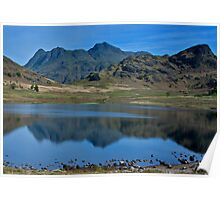 Towards the Langdale Fells Poster