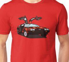 Organic Delorean Unisex T-Shirt