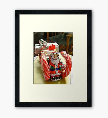 Santa's Sleigh Framed Print