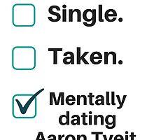 Aaron Tveit Boyfriend by annalisareyanne