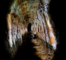 Unknown Destination,Historic Goldmine. by Darryl Fowler