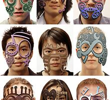 Group Masks by Rookwood Studio ©