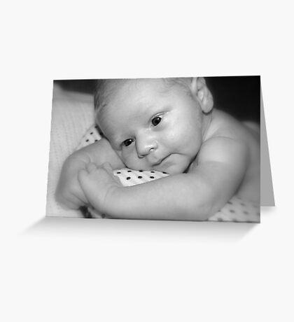 Baby George  Greeting Card