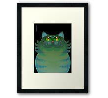SALLY CAT Framed Print