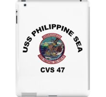 USS Philippine Sea (CV/CVA/CVS-47, AVT-11) iPad Case/Skin