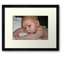 Baby George 2  Framed Print